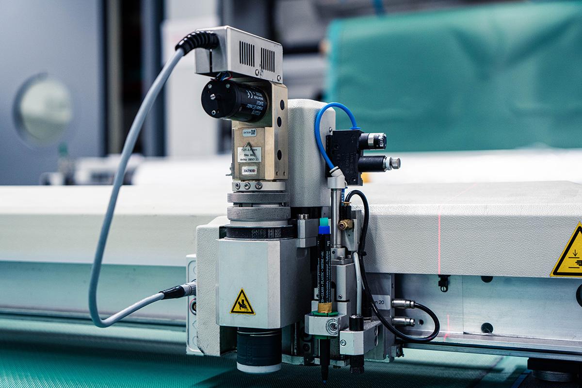 Maschine zur Carbon Herstellung